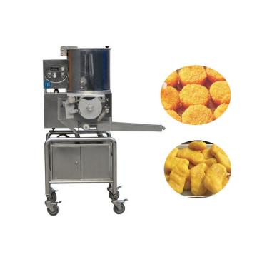 Automatic Hamburger Patty Maker Press Stuffed Burger Making Machine