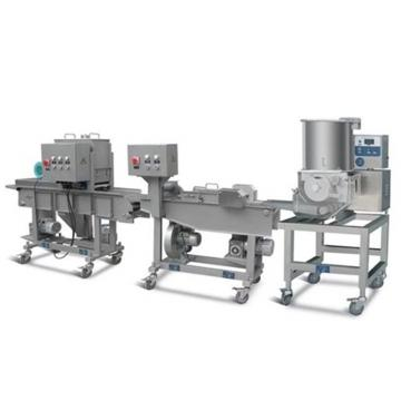 China Automatic Meat Patty Forming Machine Cost-Effective Hamburger Patty Making Line