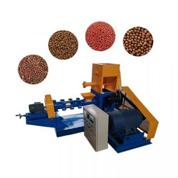 Complete Animal Feed Pellet Floating and Sinking Fish Food Processing Production Line