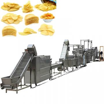 Automatic Frying Food Crisp Machines Potato Crisp Processing Line Salad Chips Making Machine Supplier Auto Salad Snack Food Machine