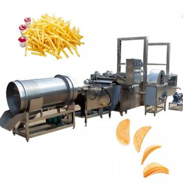 industrial full automatic frozen fries fried potato chips making machinery production line maker